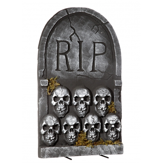 Halloween Grafsteen Rip Met Schedels 55 Cm Zwembaden shop kopen