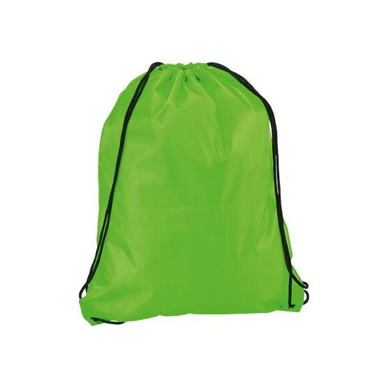 Neon Groene Gymtas Met Rijgkoord Zwembaden shop kopen