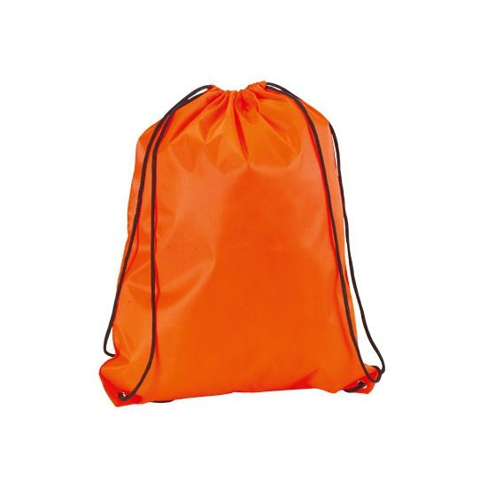 Neon Oranje Gymtas Met Rijgkoord Zwembaden shop kopen