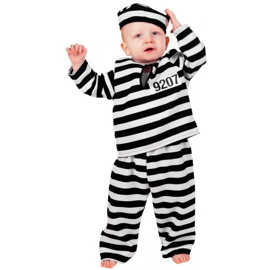 Peuter en baby verkleedkleding boef