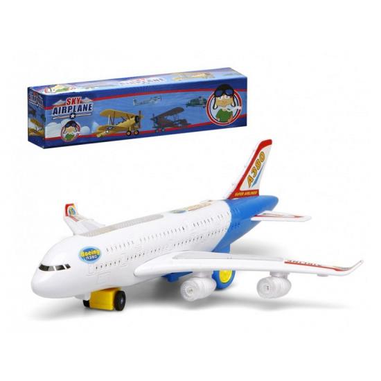 Wit Speelgoed Vliegtuig Met Licht En Geluid Zwembaden shop kopen