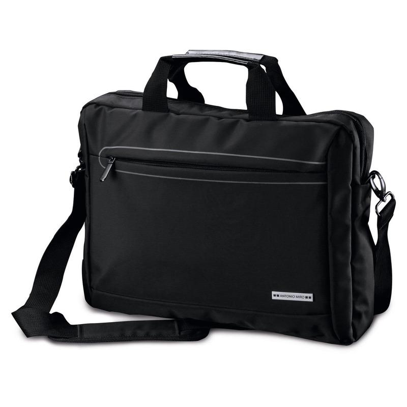 Aktetas-laptoptas 15,6 inch zwart 10 liter