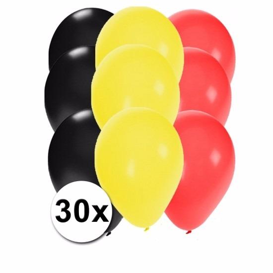 Belgische feest ballonnen 30 st