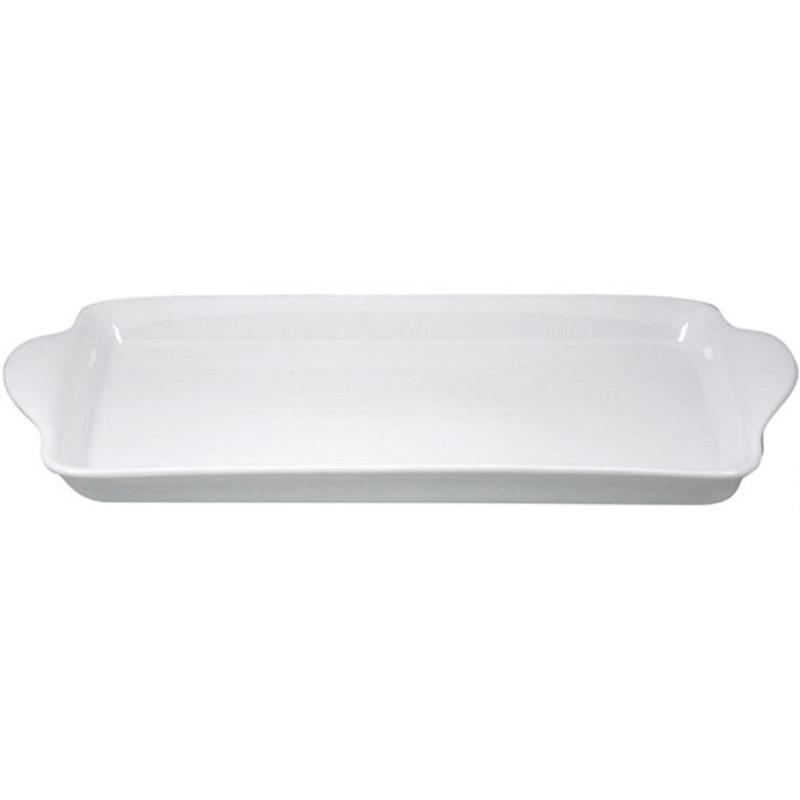 Cakeschotel-cakebord wit porselein 35 cm
