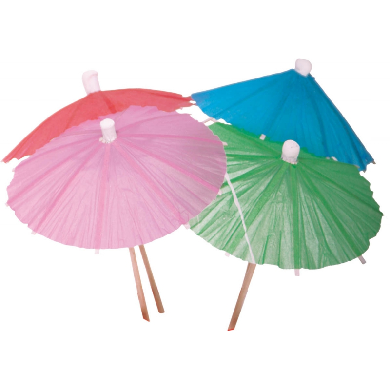 Cocktail parasols 15 stuks