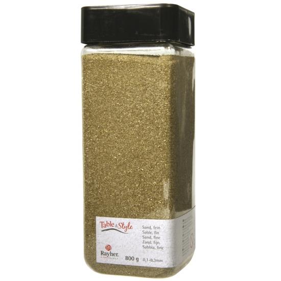 Decoratie materiaal goud zand