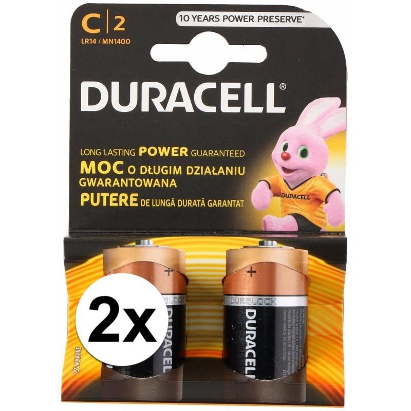 Duracell batterijen CR-LR14 4 stuks