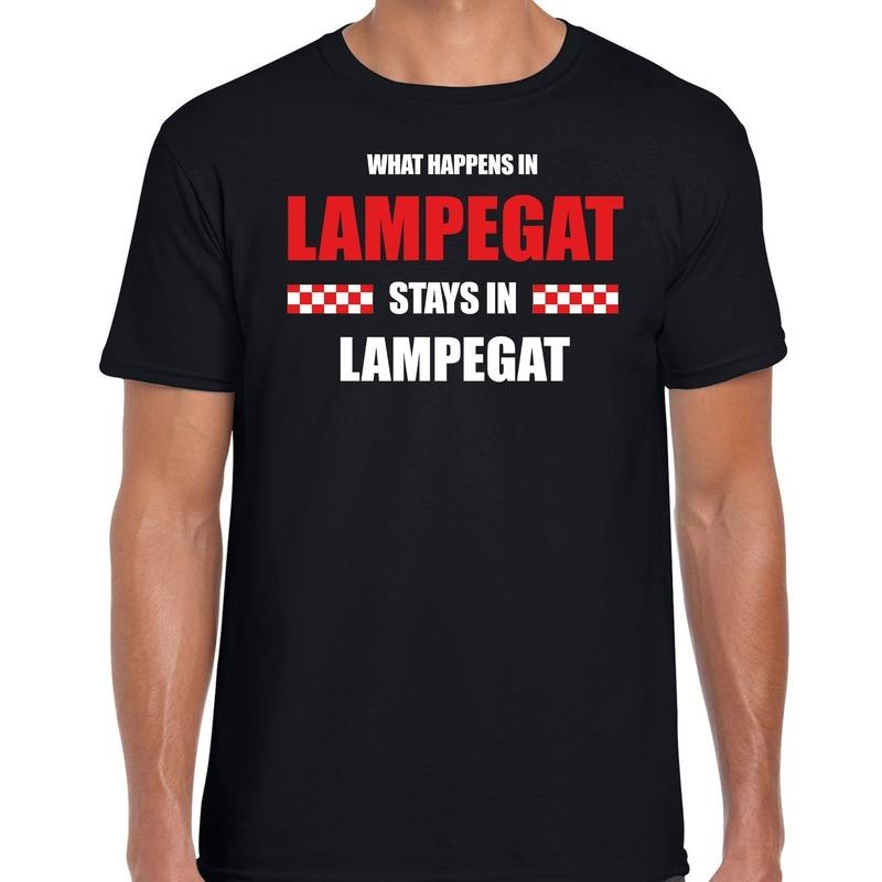 Eindhoven-Lampegat Carnaval outfit-t- shirt zwart heren