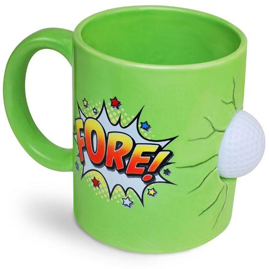 Groene theemok golfbal 600 ml