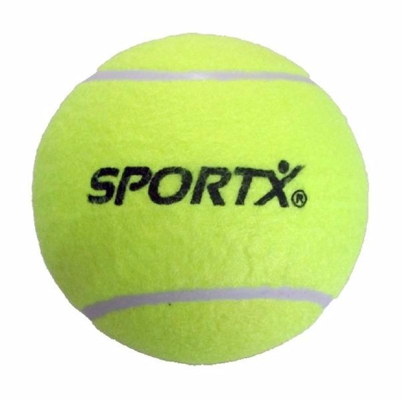 Grote tennisbal 13 cm 2 stuks