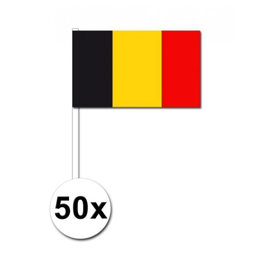 Handvlag Belgie set van 50