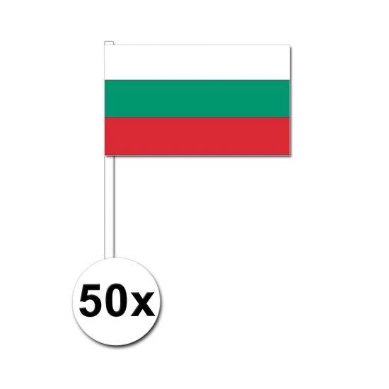 Handvlag Bulgarije set van 50