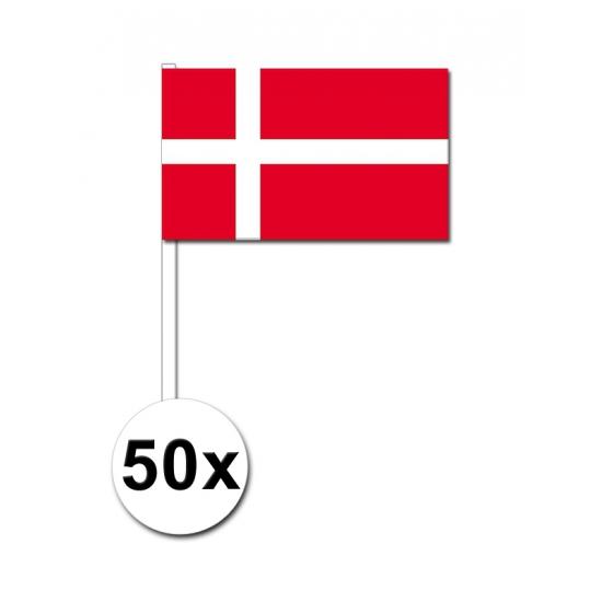 Handvlag Denemarken set van 50