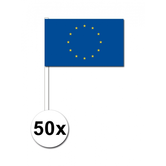 Handvlag Europa set van 50