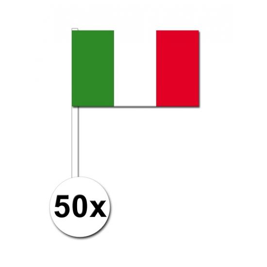 Handvlag Italie set van 50