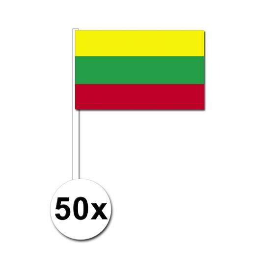 Handvlag Litouwen set van 50
