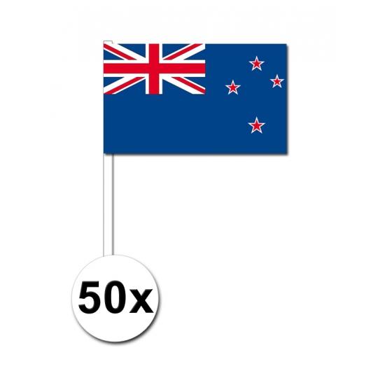 Handvlag Nieuw Zeeland set van 50