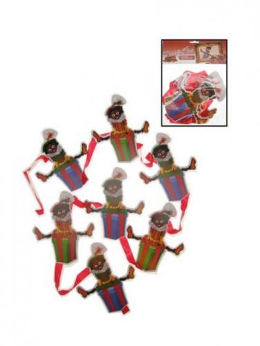 Hangmobiel decoratie Zwarte Pieten