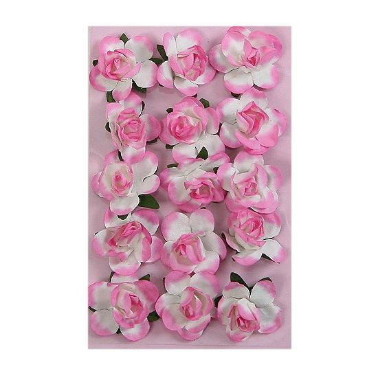 Hobby bloemetjes roze 1,5 cm