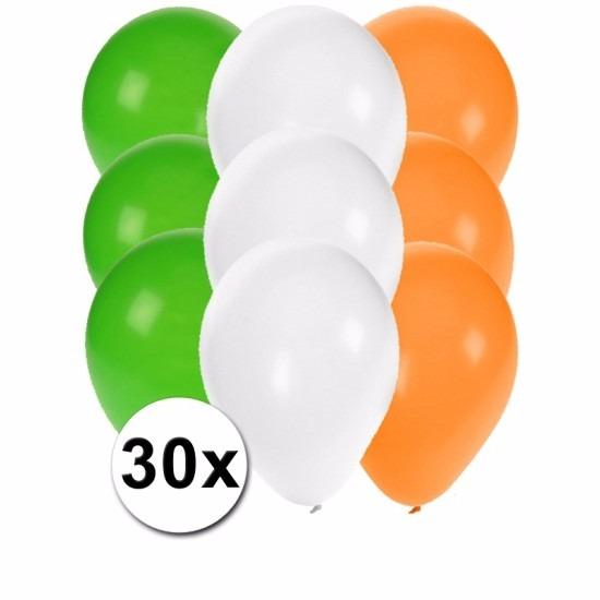 Ierse feest ballonnen 30 st