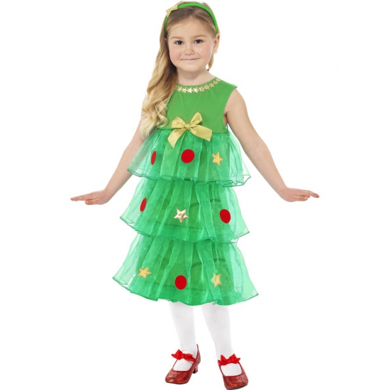 Kerstboom jurkje voor meisjes