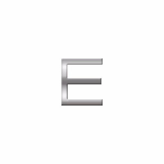 Kleine alfabet stickers letter E