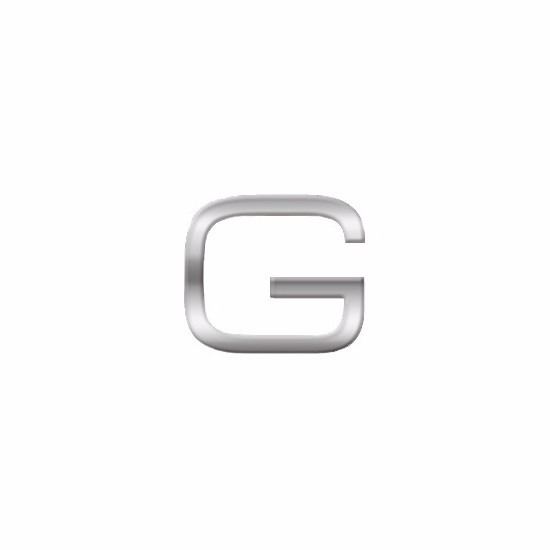 Kleine alfabet stickers letter G
