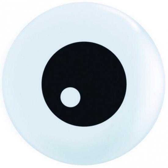 Kleine ballon oogbal 13 cm
