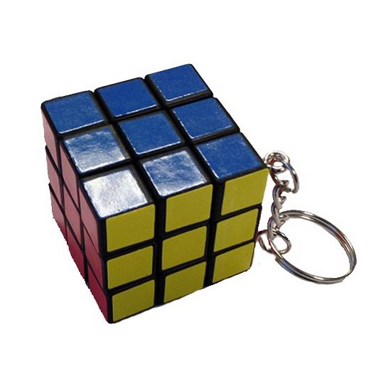 Kubus spelletje aan sleutelhanger