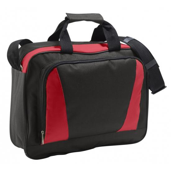 Laptop tas rood-zwart 40 cm