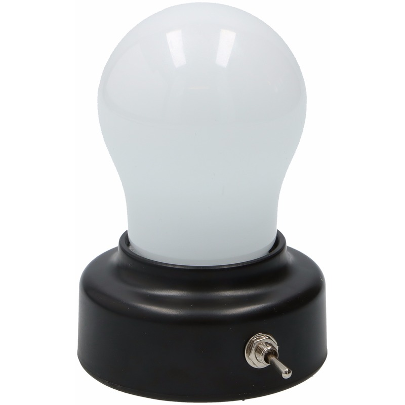 Nachtlamp gloeilampvorm 11 cm