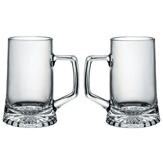 Oktoberfest - 2x Oktoberfest bierglazen/bierpullen 510 ml