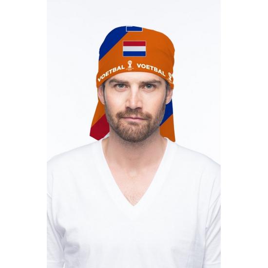 Oranje Holland hoofddoek