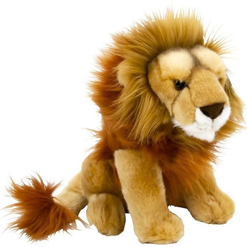 Pluche leeuwen knuffel 25 cm