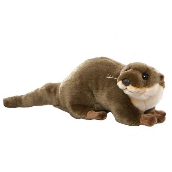 Pluche otter knuffel 45 cm