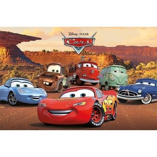 Poster Disney Cars 61 x 92 cm wanddecoratie