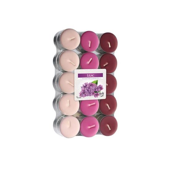 Theelichten lilac 30 stuks